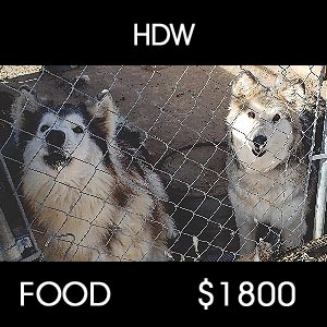 donated to HDW for food