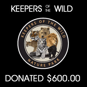 donated to  Keepers of the WILD