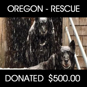donated to Oregon Pack